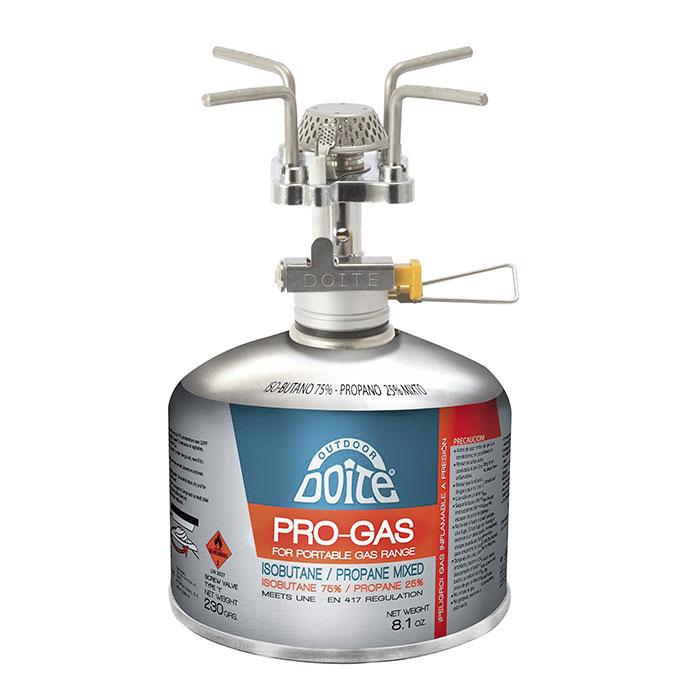 Doite Anafe Calentador compacto a gas Rocket