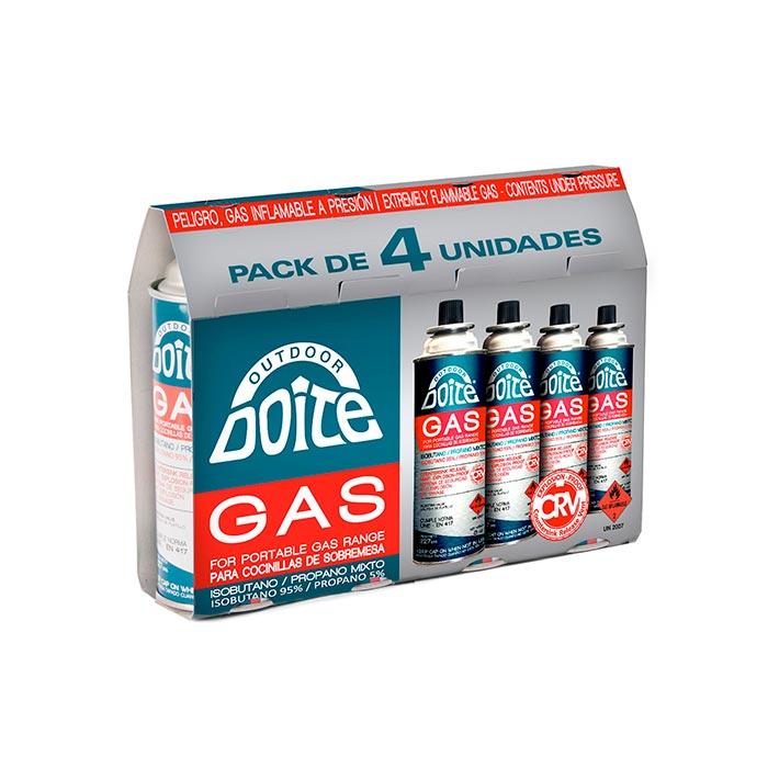 Pack PRO Gas 227 gr. DOITE 4 unidades