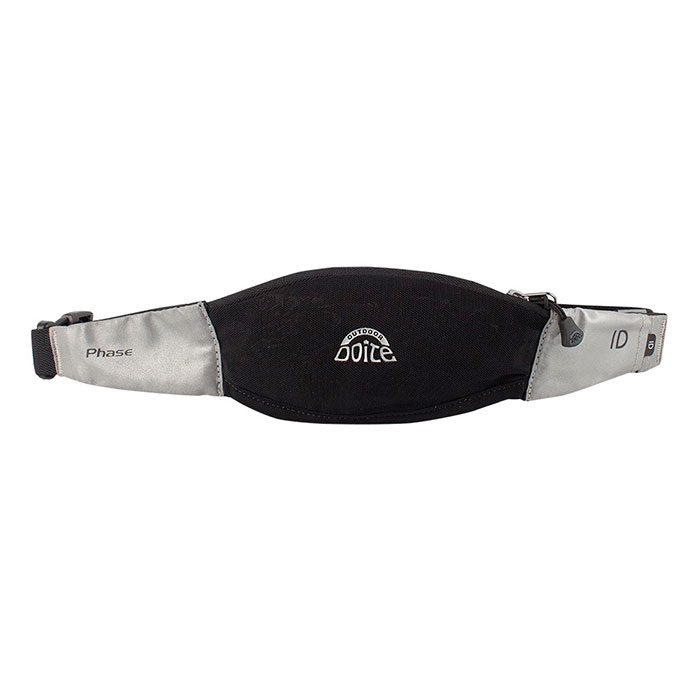Riñonera Doite Running Belt Phase Black